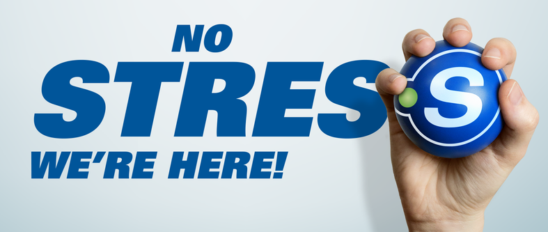 No stress, we're here!