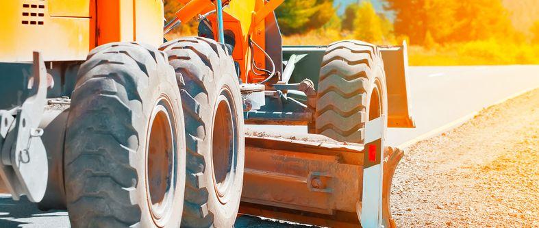 Les pneus pour équipement de chantier