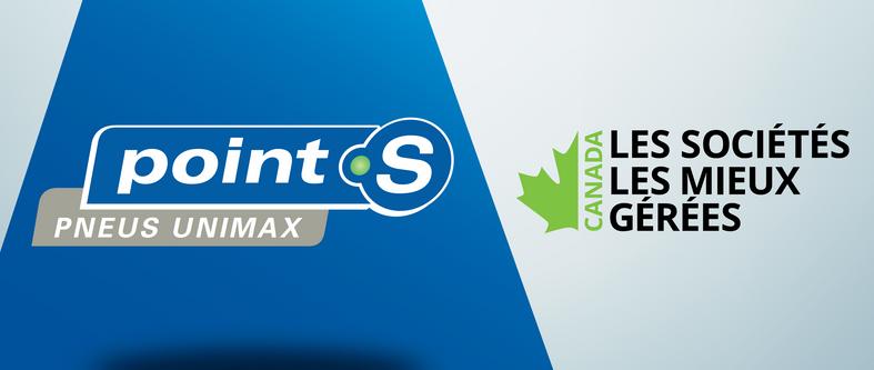 Pneus Unimax Ltée est nommée parmi les sociétés les mieux gérées au Canada