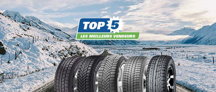 Les 5 meilleurs pneus d'hiver en 2018