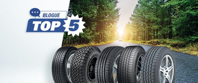 Quels sont les meilleurs pneus d'été en 2019?