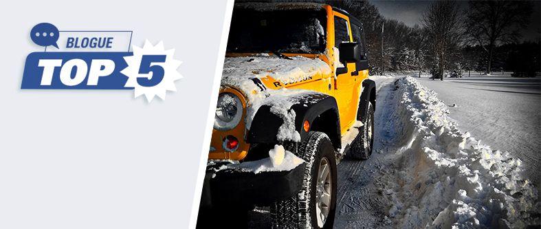 Quels sont les meilleurs pneus 4 saisons pour l'hiver?