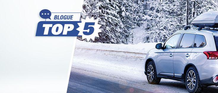 Quels sont les 5 meilleurs pneus d'hiver pour les VUS?