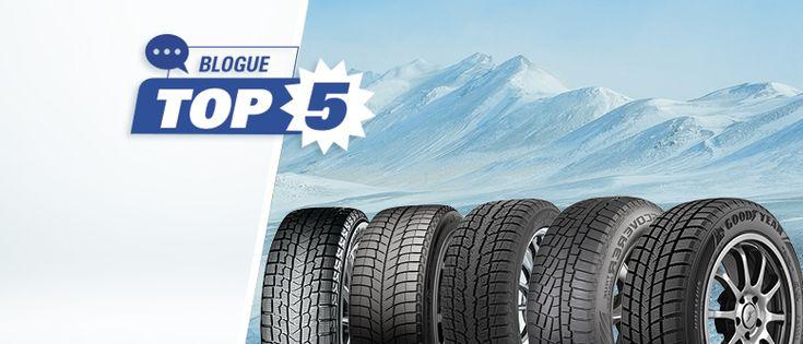Quels sont les 5 meilleurs pneus d'hiver en 2019 ?