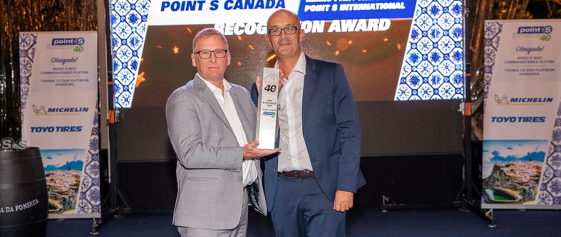 Point S Canada reçoit le prestigieux prix d'excellence international lors de son 40ème anniversaire à Lisbonne