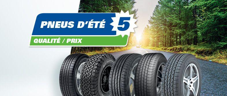 Quels sont les meilleurs pneus d'été en 2020 ?