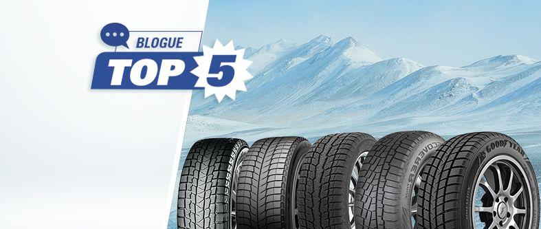 Voici les 5 meilleurs pneus d'hiver 2020
