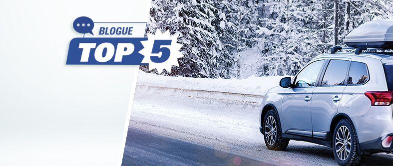 Quels sont les meilleurs pneus d'hiver pour VUS et camionnettes en 2020?
