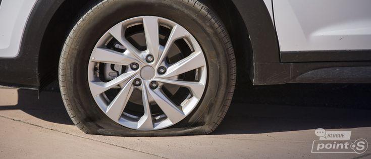 Une crevaison? Voici 8 étapes pour installer votre pneu de secours