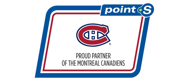 POINT S BECOMES AN OFFICIAL PARTNER OF THE MONTREAL CANADIENS