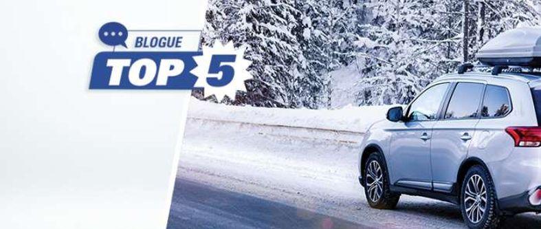 Quels sont les meilleurs pneus d'hiver pour VUS et camionnette en 2021 ?