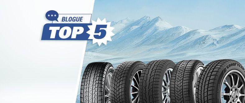 Quels sont les meilleurs pneus d'hiver pour voiture en 2021 ?