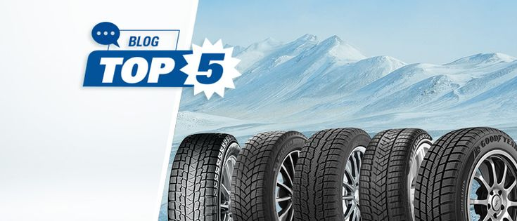 WHAT ARE THE TOP 5 WINTER TIRES FOR 2021 ?