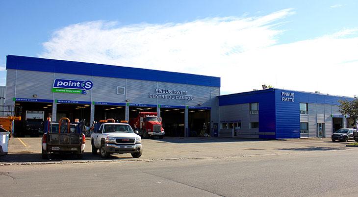 Pneus Ratté Centre du Camion Québec