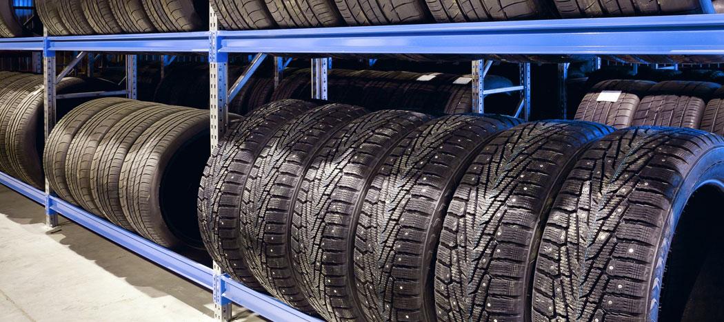 Entreposage des pneus