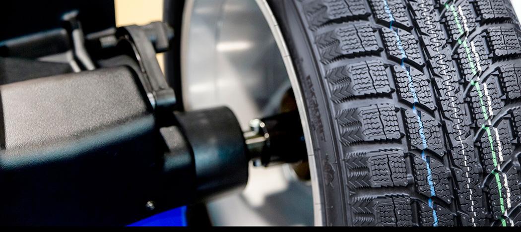 Équilibrage des roues